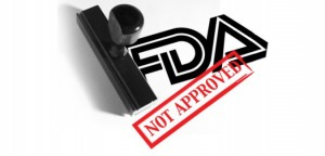 Vioxx was never approved by the FDA